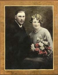 Earl and Inez Anderson, 1928